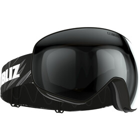 Bliz Floz Goggles, matt black/brown-silver mirror